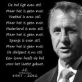 Gedicht Johan Cruyff
