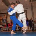 Noel judo in actie